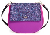Kate Spade Cameron St - Glitter Small Byrdie Crossbody Bag - Pink