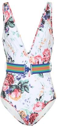 Zimmermann Allia floral swimsuit