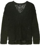 Line Carlyle Open-Knit Alpaca-Blend Sweater