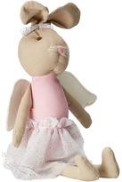 Mud Pie Linen Bunny Princess Doll Accessories Travel