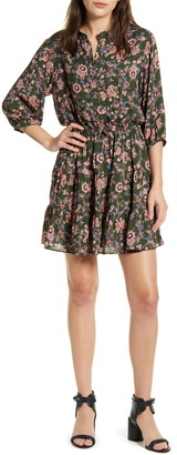 Rebecca Minkoff Ollie Floral 3/4 Sleeve Dress
