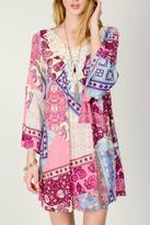 Entro Pink Lace Dress