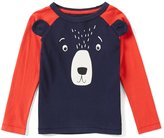 Joules Little Boys 2-6 Bear Striped-Sleeve Top