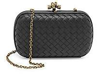 Bottega Veneta Women's Chain Knot Leather Clutch