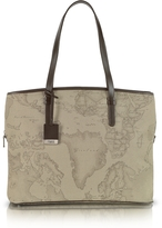 "Alviero Martini 1a Prima Classe - Geo Printed Large Business ""New Classic"" Shoulder Bag"