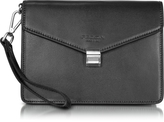 Giorgio Fedon New Class Leather Clutch w/Wristlet