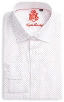 English Laundry Men's Big & Tall Trim Fit Geometric Dress Shirt