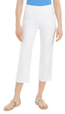 Charter Club Pull-On Capri Pants, Created for Macy's