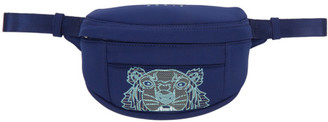 Kenzo Navy Mini Tiger Bum Bag