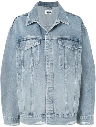 Izzue Oversized-Fit Denim Jacket