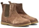Pom D'Api Pom Dapi Light Brown Suede Chelsea Boots