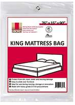 "UBOXES Moving Supplies King Size Mattress Cover/Bag 76"" x 15"" x 90"" (KINGCOVER01)"