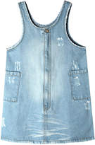 Art & Eden Becca Distressed Denim Dress, Size 2-10