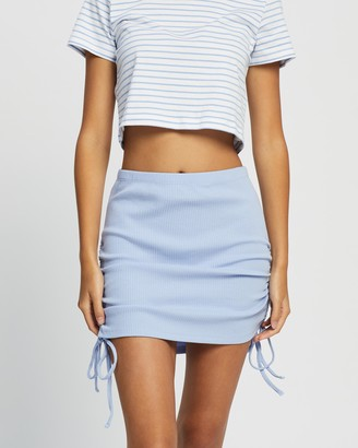 Cotton On Women's Blue Mini skirts - Fair Play Mini Skirt - Size S at The Iconic