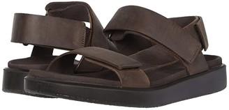 Ecco Flowt Summer Sandal (Coffee) Men's Shoes