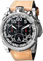 CT Scuderia Men's CS10506 Analog Display Swiss Quartz Brown Watch