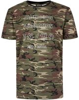 Antioch Camo Alien Generation Print T-shirt*