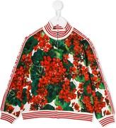 Dolce & Gabbana portofino print bomber jacket