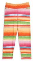 Ralph Lauren Girl's Striped Leggings