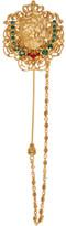 Dolce & Gabbana Gold Crest Pin