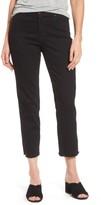 Women's Halogen High Rise Straight Leg Crop Jeans