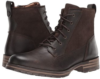 Lucky Brand Gaston (Black Crazy Horse) Men's Shoes