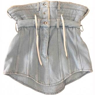 Y/Project Blue Denim - Jeans Skirt for Women