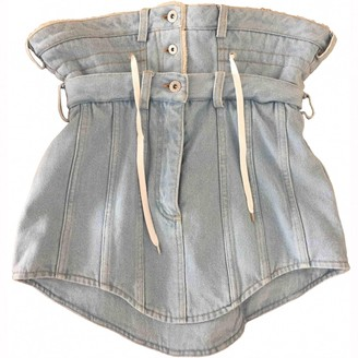 Y/Project Blue Denim - Jeans Skirts