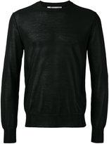 Comme des Garcons semi-sheer jumper - men - Cotton/Acrylic/Nylon - L