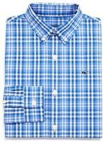 Vineyard Vines Boys' Gilbert's Pond Plaid Whale Shirt - Sizes S-XL