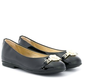 Versace Patent Slip-On Shoes