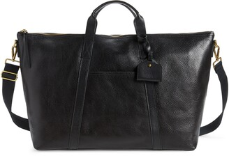 Madewell Essential Leather Overnight Bag