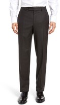 Ted Baker Men's Jefferson Flat Front Check Wool Trousers