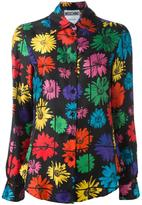 Moschino floral blouse - women - Silk - 42