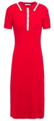 Ninety Percent Ribbed Merino Wool-blend Dress