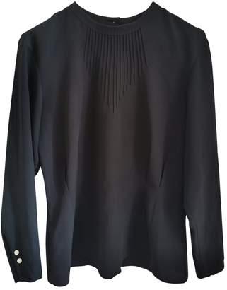 Cacharel Black Silk Top for Women