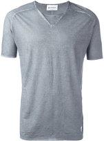 Dondup flared T-shirt - men - Cotton - XL