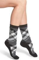 Ralph Lauren Women's Plaid Boot Socks