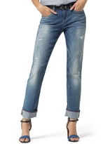 Tommy Hilfiger Final Sale-Rip And Repair Straight Fit Jean