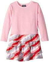 Toobydoo Sweet Lavender Ruffle Dress (Toddler/Little Kids/Big Kids)