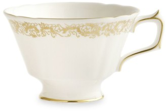 Royal Crown Derby Gold Aves 22K Gold & Bone China Tea Cup