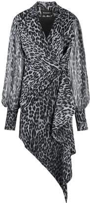 Rasario leopard print wrap dress