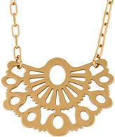 Tory Burch Fan Pendant Necklace