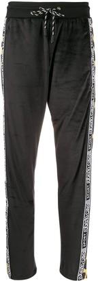 Roberto Cavalli Logo Stripe Track Pants