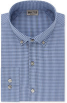 Kenneth Cole Reaction Men's Techni-Cole Slim-Fit Flex Collar Stretch Blue Dawn Broadcloth Dress Shirt
