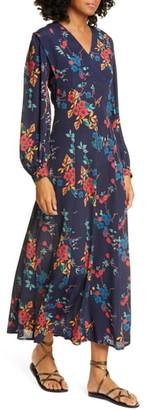 Sea Mari Floral Long Sleeve Dress