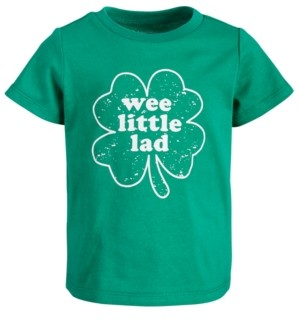 First Impressions Baby Boys Wee Lad Cotton T-Shirt, Created for Macy's