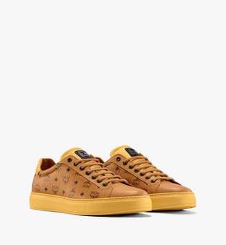 MCM Men's Classic Low-Top Sneakers in Visetos