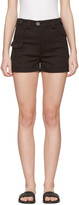Miu Miu Black Cotton Shorts