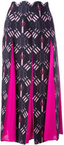 Valentino Love Blade skirt - women - Silk/Virgin Wool - 40